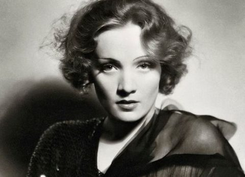 German actresses Marlene Dietrich