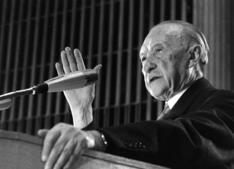 german chancellors konrad adenauer
