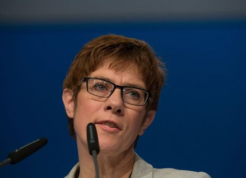 anngret kramp-karrenbauer cdu head