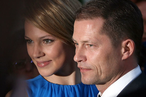 til schweiger with girlfriend